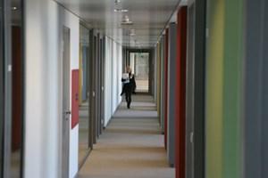 Das Finanzzentrum hat weniger Quadratmeter als die aufzulassenden sieben Ämter. Dafür gibt's einen Betriebskindergarten.