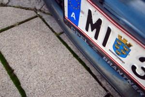 Ein Mistelbacher in Wien: Das geht ab Montag nur noch begrenzt. Bedingung für das Parkpickerl ist der Hauptwohnsitz im Bezirk.