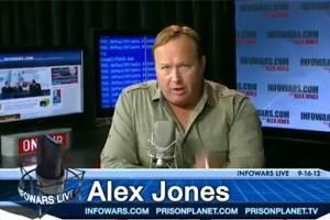 Alex Jones, Verschwörungstheoretiker mit Sendungsbedürfnis.