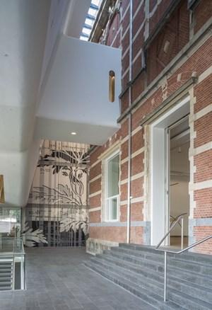 ... endlich fertiggestellt: Stedelijk Museum.