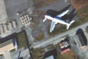 """Das Testgelände des """"Aberdeen Proving Ground"""" im US-Bundesstaat Maryland, gibts bei Apple Maps im Detail zu bestaunen."""