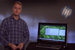 Chief Architect Steve Winston präsentiert den ersten WebOS-Port.