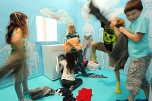 Die Ausstellung ist das, was die Kinder daraus machen.