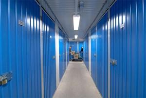 Einlagern? Auslagern! Abteile gibt es von einem bis 100 Quadratmeter.