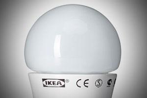 Ab 2016 verkauft Ikea nur mehr LED-Lampen.