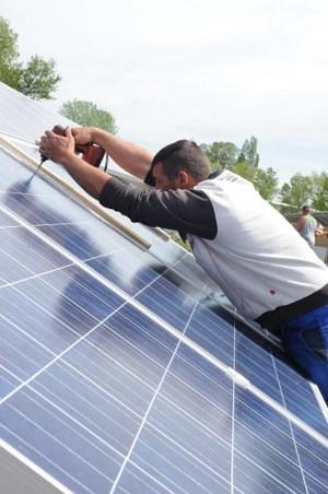 Wärmepumpe, Fernwärme, Solarwärme, Sonnenstrom (Bild): Wiens Bauten sollen mit mehr Ökoenergie versorgt werden
