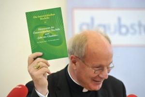 Kardinal Schönborn mit Hirtenbrief: ein Ja zur Kirche im Jahr des Glaubens - aber ein deutliches Nein zu heiklen Reformen.
