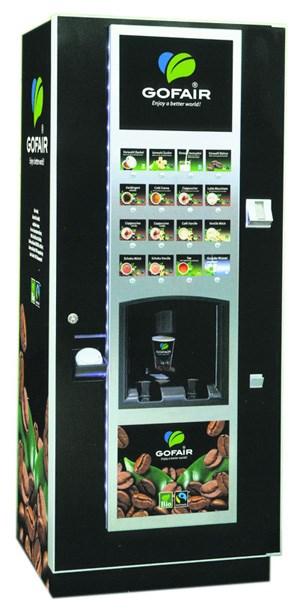 Nun wurde ein komplett fairer Kaffeeautomat entwickelt.