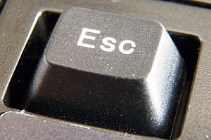 Klein, aber oho: Die Escape-Taste begleitete die Computer-Revolution.