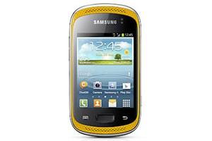 Das Galaxy Music verfügt über ein 3-Zoll-Display.