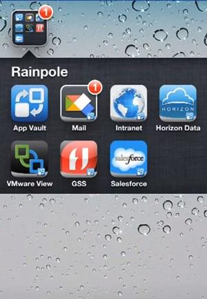 Mit VMware Horizon lassen sich Apps künftig auch unter iOS vom restlichen System absichern - und zentral administrieren.
