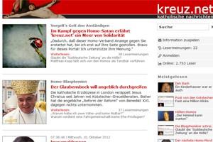 """Seit Jahren sorgt kreuz.net für Aufregung im Netz. Jetzt gibt es sogar ein """"Kopfgeld"""" und eine Anfrage an das Innenministerium."""