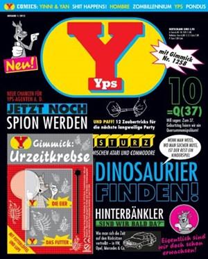 """""""Yps"""": Das Cover der ersten wiederbelebten Ausgabe."""