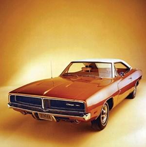 Klassiker aus der Blütezeit: Dodge Charger von 1969. Auch so eine Ikone amerikanischen Automobildesigns.