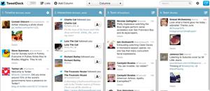 Das neue TweetDeck ist im Light Theme und im klassischen Theme nutzbar