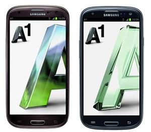 Die LTE-Version in Schwarz kommt am 17. Oktober. Das Braune Samsung Galaxy SIII folgt demnächst.