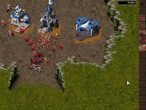 KKND: Die wilde Horde und ihr Ungeziefer gegen die Bunker-Überlebenden.