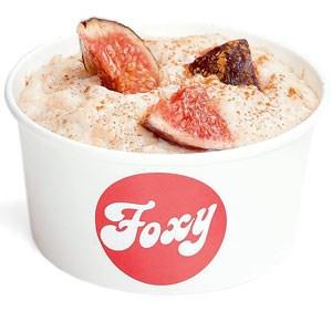Foxy Porridge oder Milchreis, klein € 2,60, mittel € 3,20 jeweils inkl. Topping, tgl. ab 9 Uhr, Faulmanng. 1, 1040 Wien.