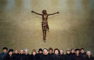 """Porträtiert Gläubige beim Gebet: Ulrich Seidls Dokumentarfilm """"Jesus, du weißt""""."""
