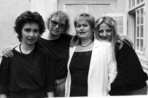 Regiekollektiv: Karin Berger (li.), Elisabeth Holzinger, Lisbeth N. Trallori, Lotte Podgornik.