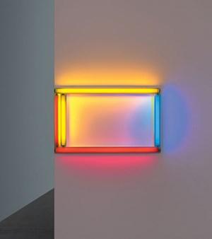 Primary Picture aus dem Jahr 1964: Nicht das Kunstwerk wird beleuchtet, sondern das Kunstwerk leuchtet selbst.