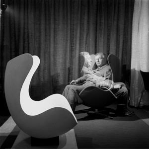 Arne Jacobsen, ein Architekt, der so gut wie jedes Detail selbst entwarf.
