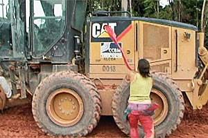 Die brasilianische Regierung setzt auf eine Politik der vollendeten Tatsachen. Der Protest der betroffenen Bürger verhallt oft ungehört.