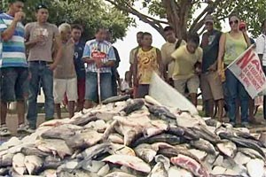 Der Flusslauf des Xingu wird durch den Bau völlig verändert. Viele Fischer werden auf dem Trockenen sitzen, andere Stadtviertel werden überschwemmt.