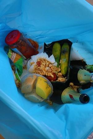 """In der Überfluss gesellschaft ist die Ursache für weggeworfene Lebensmittel oft nur simple Bequemlichkeit. Als Grund für das unnötige Kübeln wird auch """"kein Gusto"""" oder schlicht """"keine Essgelegenheit"""" angegeben."""