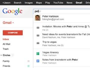 Die Gmail-Suche kann nun - optional - auch Ergebnisse aus dem eigenen Google Drive liefern.