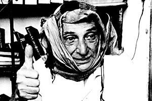 Moshe Ben-Gavriêl, etwa 1960 in Jerusalem: Er sprach fließend Arabisch und kleidete sich auch gern im arabischen Stil.