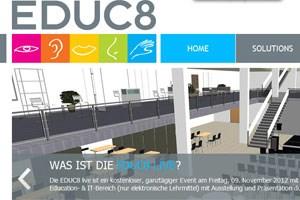 Plattform EDUC8 soll zu Diskussionen führen und einen Überblick über neue Lehrmöglichkeiten geben.