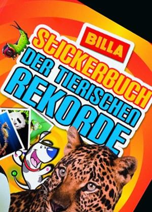 Das Billa-Stickerbuch der tierischen Rekorde.