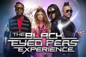 """""""The Black Eyed Peas Experience"""" erschien Ende 2011 für Wii und Xbox 360."""