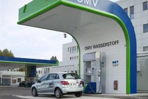 Die Wasserstoff-Tankstelle in Wien Floridsdorf.