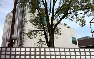 Kunst am Museumsbau: Zaun, Vorhang, Fassade.