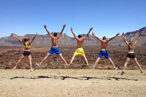 Es müssen nicht immer österreichische Paradiese sein. Auch im Höhentraining am Fuße des Vulkans Teide auf Teneriffa treibt die Zehnkampf-Union das Projekt Athletic Dreams voran.