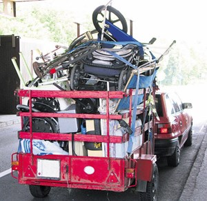 Jährlich werden in Österreich 100.000 Tonnen Sperrmüll gesammelt, der Großteil davon geht nach Ungarn.