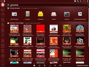 Ubuntu 12.10 integriert nun Online-Quellen in die Suchfunktion des Desktops. Eine durchaus kontroverse Entscheidung, die schon im Vorfeld für einige Diskussionen gesorgt hat, vor allem aufgrund der von Haus aus aktivierten Amazon-Anbindung.
