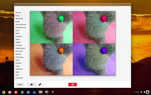 Mit Chrome OS werden seit kurzem auch diverse kleinere, lokale Anwendungen mitgeliefert, darunter eine Webcam-App und ein einfacher Taschenrechner.