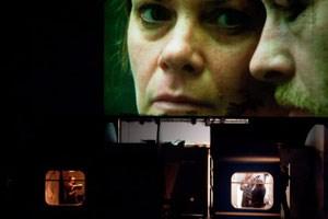 """Katie Mitchells stimmige Umsetzung von Friederike Mayröckers """"Reise durch die Nacht""""."""