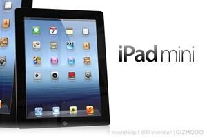 So soll das iPad Mini aussehen - zumindest wenn es nach diesem Entwurf von Gizmodo geht.
