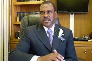 Pastor Alvin Love, ein alter Freund Obama.