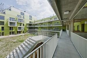 Ein Mix aus Garçonnièren, Studenten-WGs und flexibel adaptierbaren Familienwohnungen.