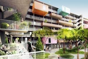 Das Projekt des Bauträgers Heimbau von den Architekten Geiswinkler & Geiswinkler. Detailinfos zu den Projekten gibt es in einer Ansichtssache.