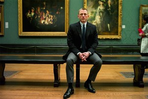 London-Schnappschüsse mit Bond: in der National Gallery ...