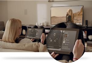 Über Xbox SmartGlass, das in Zukunft auch für Windows Phone 8, Android und iOS verfügbar sein wird, kann man sein mobiles Gerät mit der Xbox 360 verbinden.