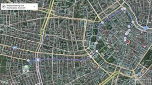 Routenplanen in Bing Maps.