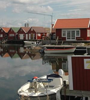Smögen an der Westküste Schwedens.