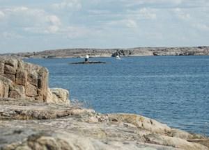 Soviel Einsamkeit findet sich hier in den Sommermonaten selten. Auch die Schweden lieben diese Art von Natur.